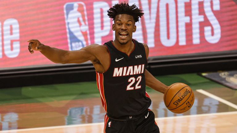 Heat is on Jimmy Butler in must-win Game 3 against the Milwaukee Bucks |  NBA News | Sky Sports