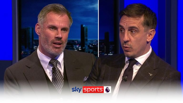 MNF:Neville and Carragher select their Player of the Year.