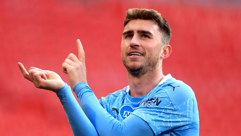 PA - Manchester City defender Aymeric Laporte Sergio Ramos, Real players left out of Spain squad for Euro 2020