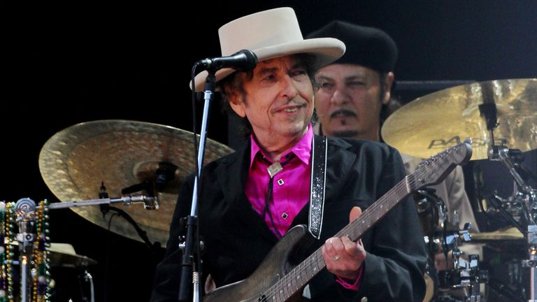 Music veteran Bob Dylan became an honorary sponsor of the fund - Bob Willis was such a fan that he added Dylan as a middle name