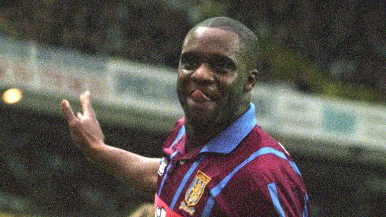 PA - Aston Villa's Dalian Atkinson
