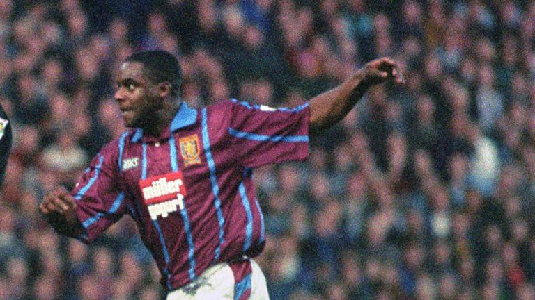 PA - Dalian Atkinson in action for Aston Villa in 1994