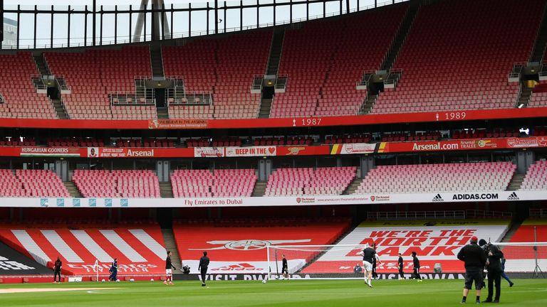 General view of Arsenal's Emirates Stadium