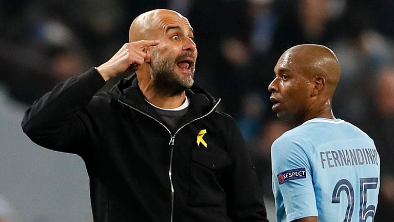 Pep Guardiola was sent off after arguing with Antonio Mateu Lahoz at half-time of Man City's quarter-final defeat to Liverpool three years ago