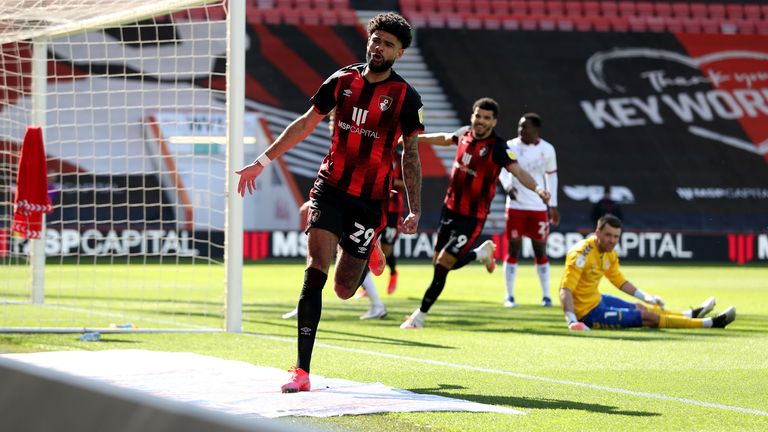 Billing has scored eight goals so far this term - a career best