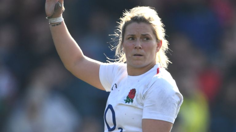 Rachel Burford is passionate about ensuring women's rugby union continues to grow around the world