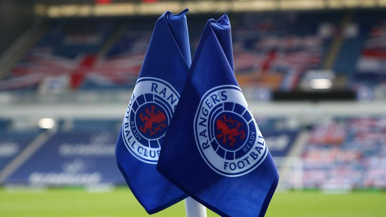 """Police Scotland are investigating the alleged use of """"sectarian language"""" by Rangers players during their title celebrations"""