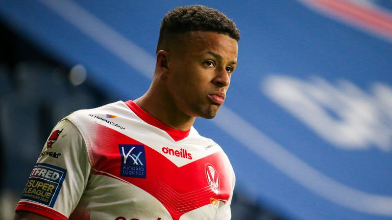 Grace sat out last week's Super League victory over Hull with concussion