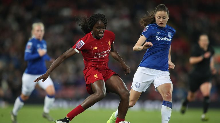 PA - Rinsola Babajide in action for Liverpool in 2019