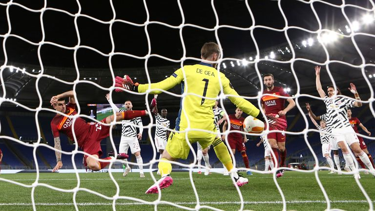 David de Gea made a series of stunning saves