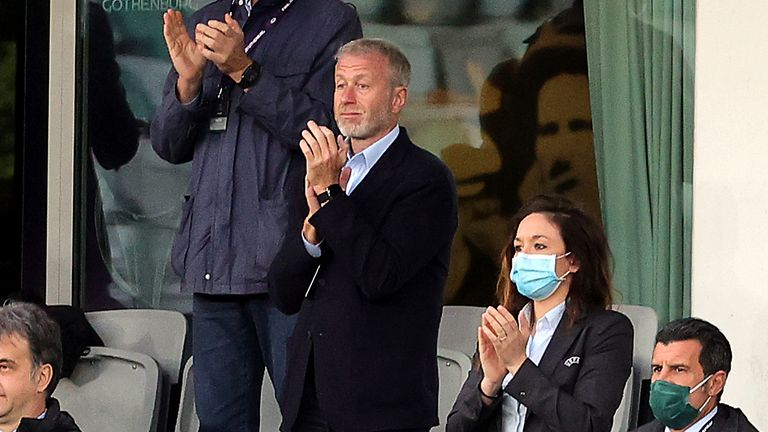 Chelsea owner Roman Abramovich attended the Women's Champions League final