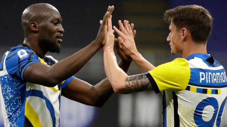 Romelu Lukaku scored as Inter Milan maintained their unbeaten streak