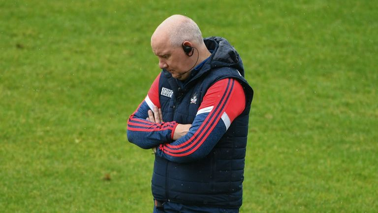 McCarthy watched his side fall to Kildare