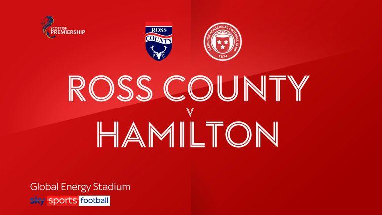 Ross County v Hamilton badge