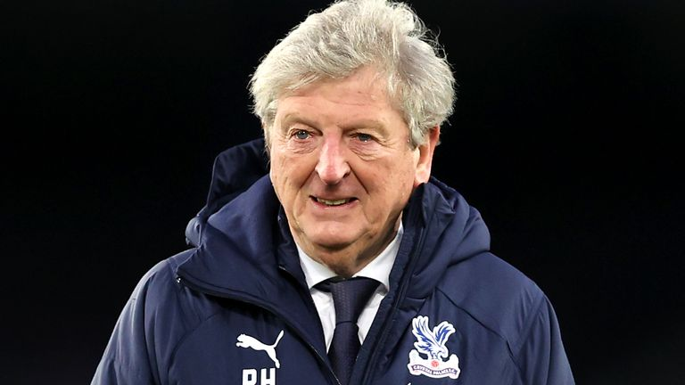 Roy Hodgson's future at Selhurst Park is uncertain with his contract set to expire this summer