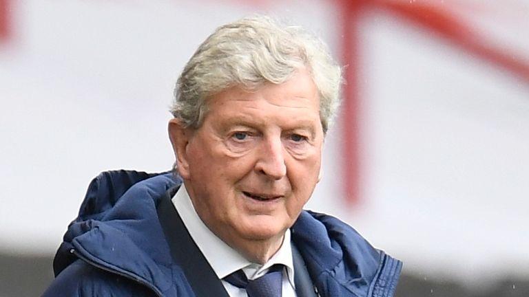 Roy Hodgson est hors contrat cet été, mais a refusé de discuter de son avenir au Crystal Palace