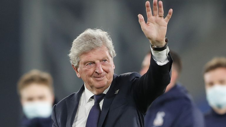 Roy Hodgson announced he was to step down as Crystal Palace manager after nearly four years in charge