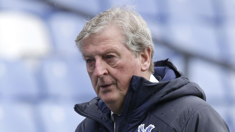 Roy Hodgson has announced he will leave Crystal Palace at the end of the season. (PA)