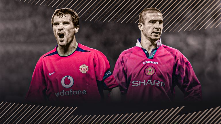 Roy Keane and Eric Cantona won 11 Premier League titles between them