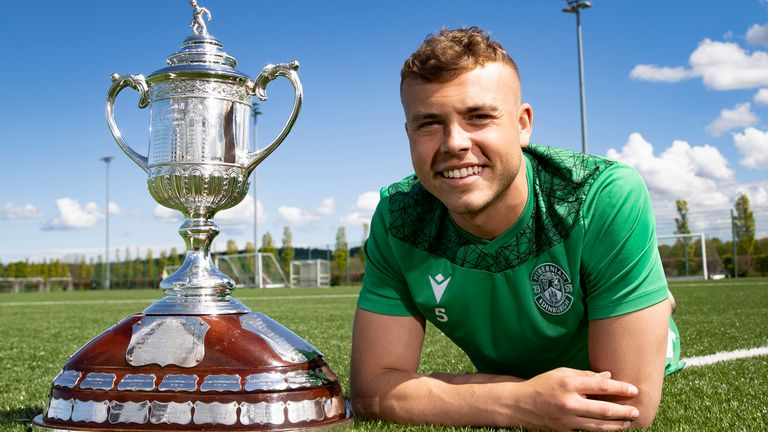 Ryan Porteous watched Hibs win the Scottish Cup as a fan - will he do it as a player?