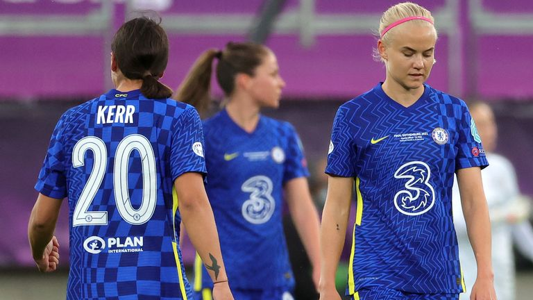 Sam Kerr and Pernille Harder both missed chances in the final