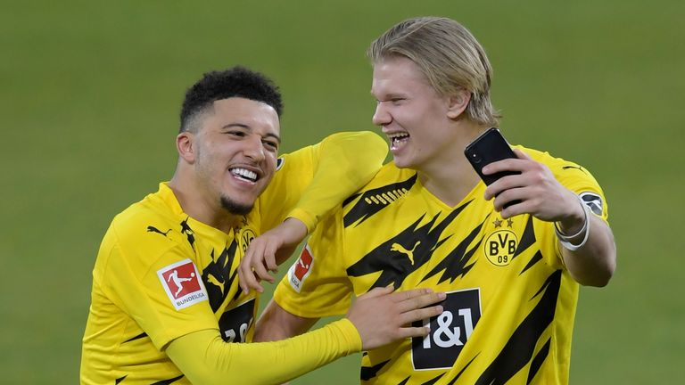Jadon Sancho and Erling Haaland are both in demand this summer