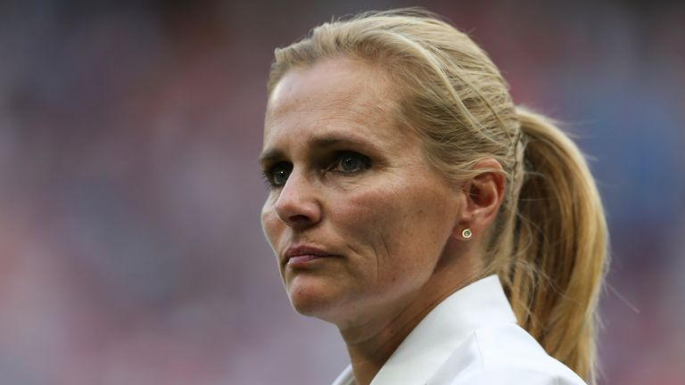 Sarina Wiegman will take charge of England for the first time against North Macedonia in September