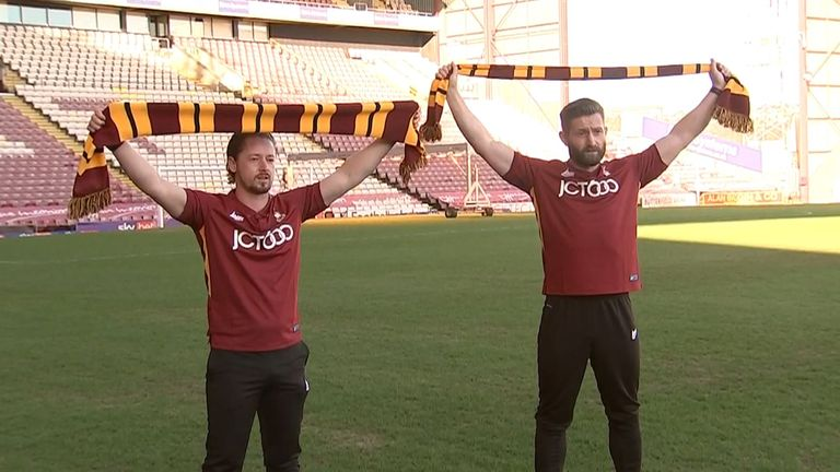 Conor Sellars (left) and Mark Trueman (right)