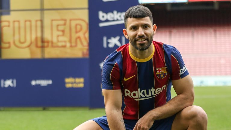 Sergio Aguero will join Barcelona upon the expiration of his contract at Manchester City