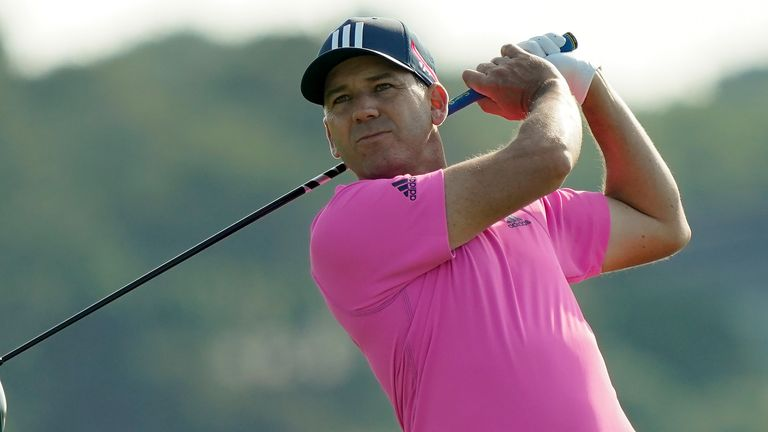 Sergio Garcia won his maiden PGA Tour title at Colonial in 2001