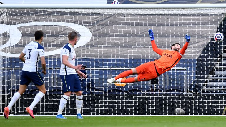 Sergio Reguilon scores an own goal