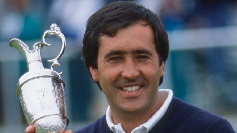 Ballesteros, a five-time major champion, won The Open in 1979, 1984 and 1988