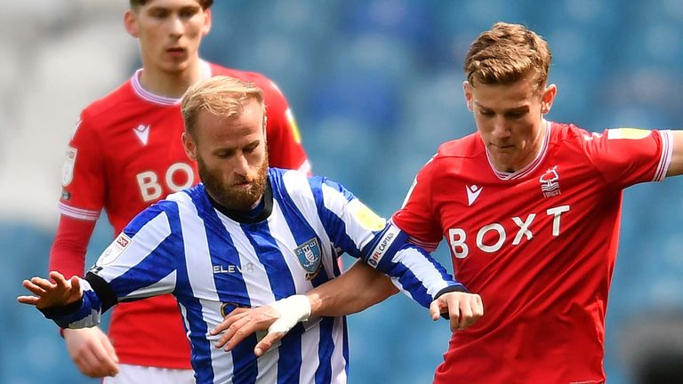 The game between Sheffield Wednesday and Nottingham Forest ended goalless at Hillsborough