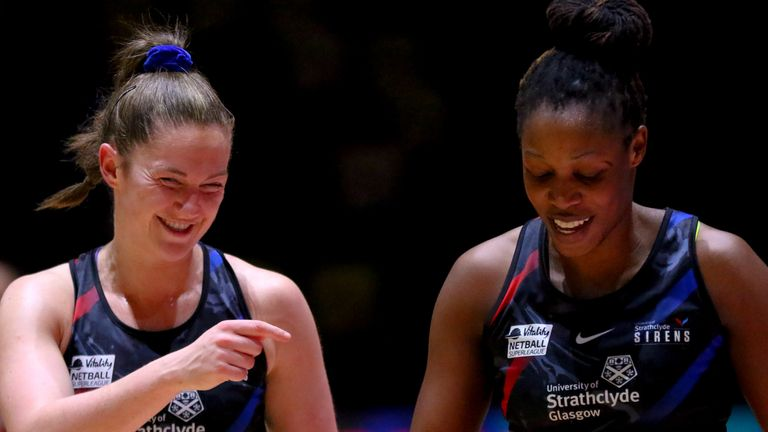 Strathclyde Sirens prevailed over Saracens Mavericks to continue to shake up the play-off race (Image Credit - Ben Lumley)