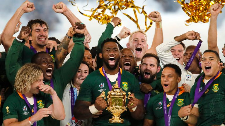South Africa have not played a Test match since beating England in the final of the 2019 Rugby World Cup