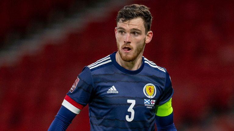 SNS - Scotland captain Andrew Robertson