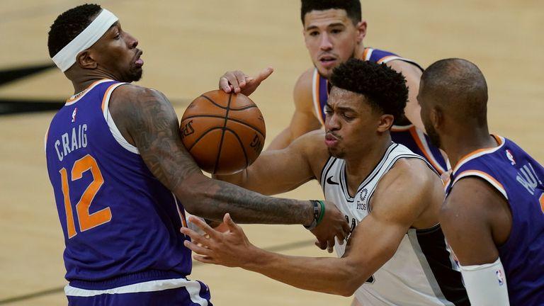 NBA Wk21: Spurs 103-140 Suns
