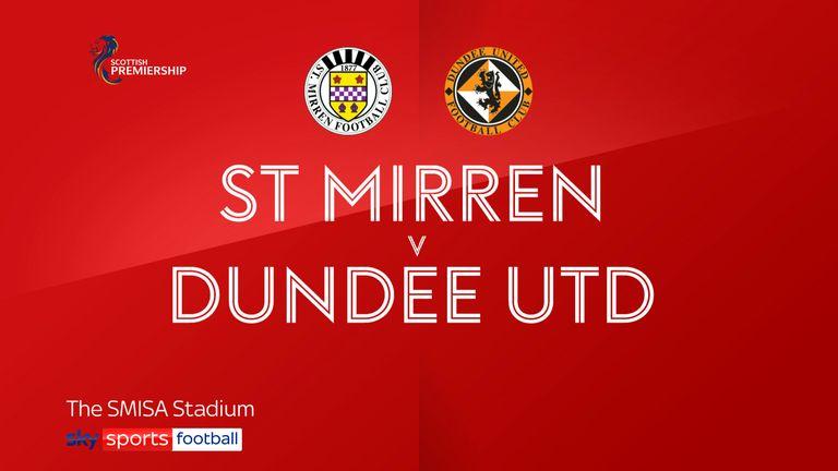 St Mirren v Dundee Utd badge