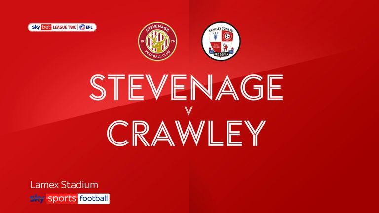 Stevenage v Crawley