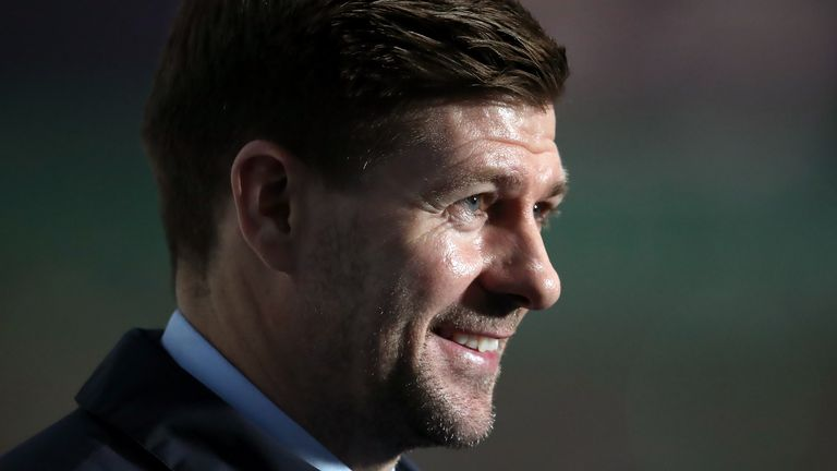 Steven Gerrard led Rangers to their first Scottish Premiership title since 2011