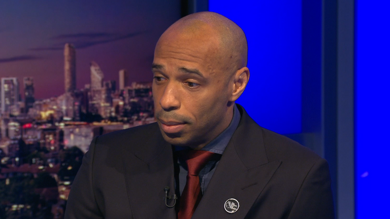 Former Arsenal striker Thierry Henry called Michael Holding in the wake of his comments on Sky Sports last year