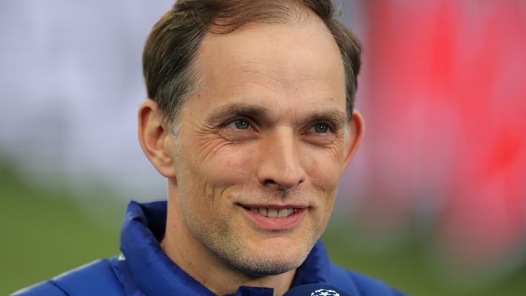 Chelsea head coach Thomas Tuchel says he is in the happiest moment of his professional career