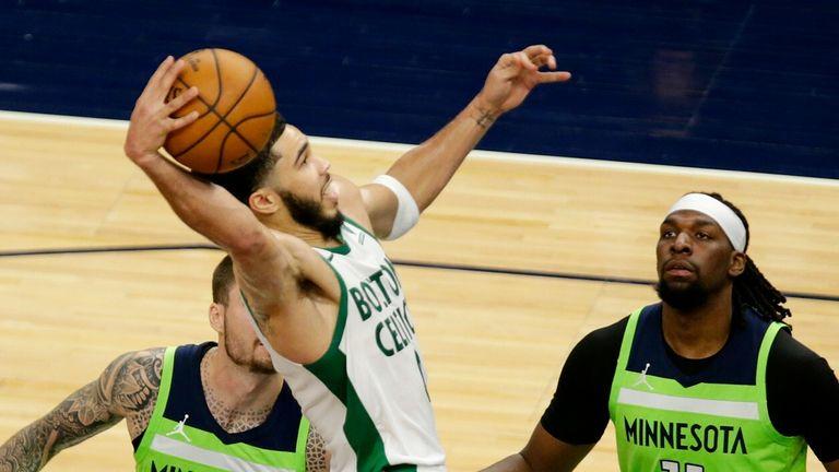 NBA Wk21: Timberwolves 108-124 Celtics