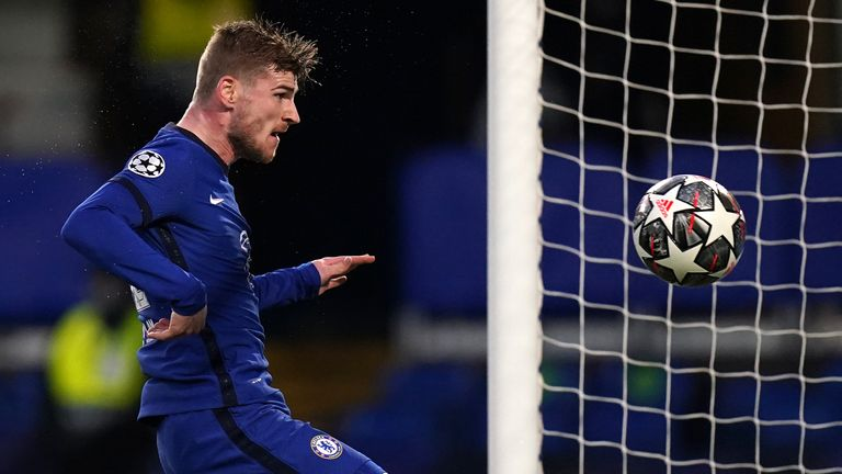 Timo Werner is set to start for Chelsea in Porto