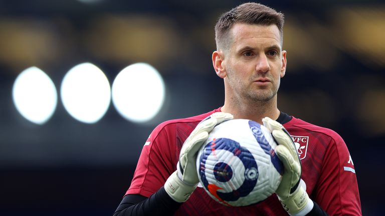 Tom Heaton has vowed to challenge current Manchester United keepers David De Gea and Dean Henderson for the No.1 shirt