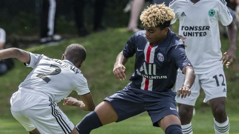 Vinci Cup 2019: Tonsser United 1 -1 PSG (Player from PSG is Noah Lemina, little brother of Mario Lemina and highly rated youth player)