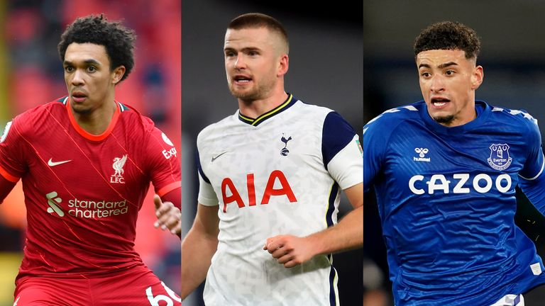 Trent Alexander-Arnold and Ben Godfrey have been named in England's provisional 33-man squad for Euro 2020, but Eric Dier misses out