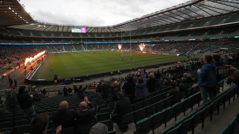 Twickenham welcomed back 10,000 fans for the 2021 Challenge Cup final