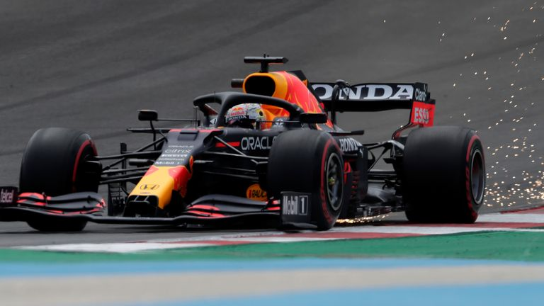 Portuguese GP: Max Verstappen beats Lewis Hamilton and Valtteri Bottas to top