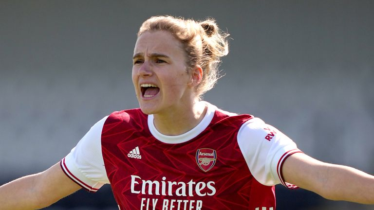 Vivianne Miedema's current Arsenal contract expires at the end of next season